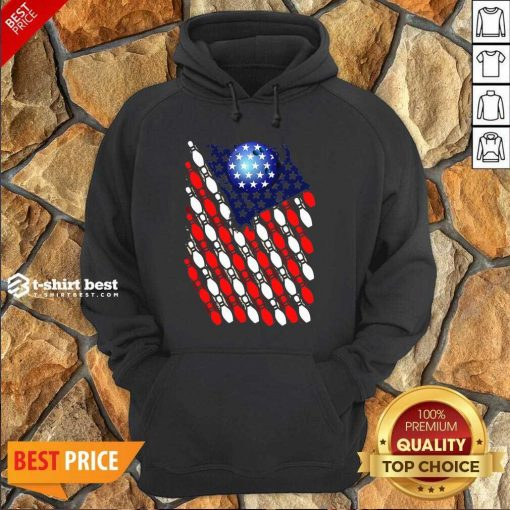 Bowling American Flag 2020 Hoodie - Design By 1tees.com