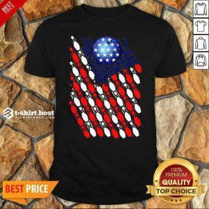 Bowling American Flag 2020 Shirt - Design By 1tees.com