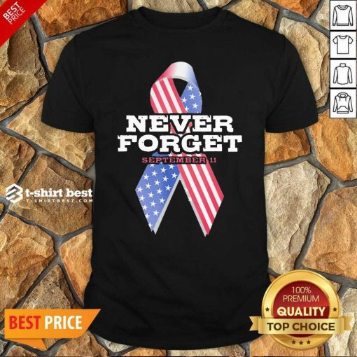 Breast Cancer American Never Forget September 11 Shirt - Design By 1tees.com
