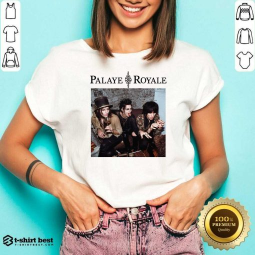 Palaye Royale Merch Album Art V-neck - Design By 1tees.com