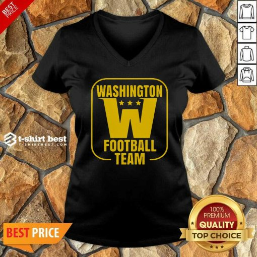 Washington Football Dc Sports Team Novelty V-neck - Design By 1tees.com