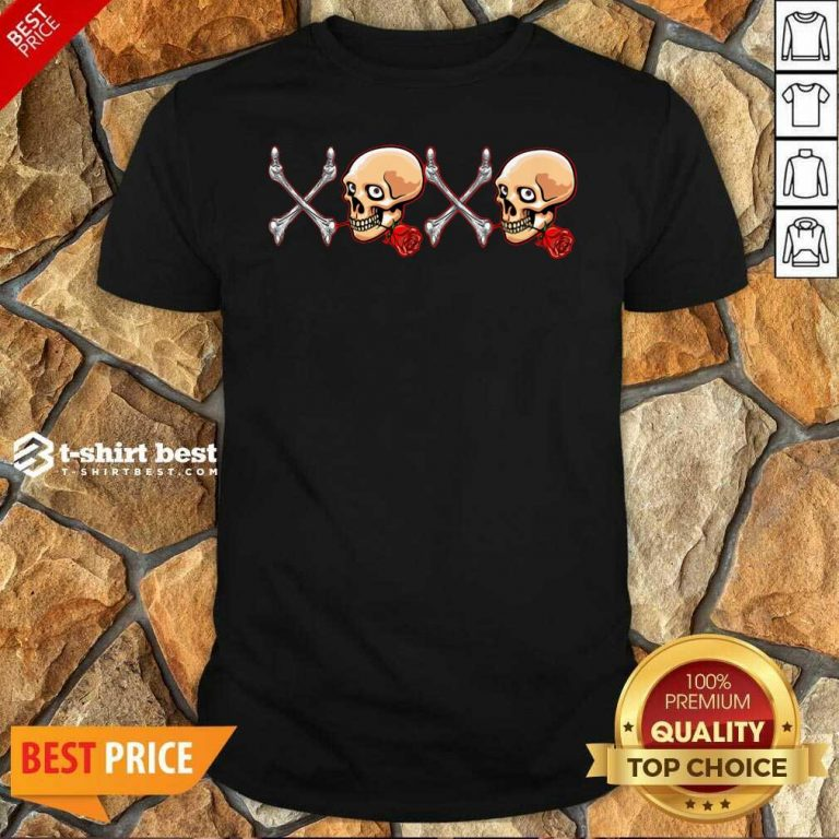Xoxo Skull Shirt - Design By 1tees.com