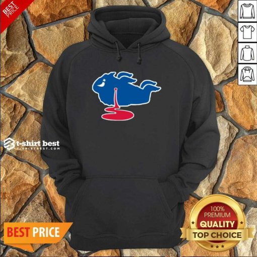 Buffalo Bills Shot Dead Logo Hoodie - Design By 1tees.com