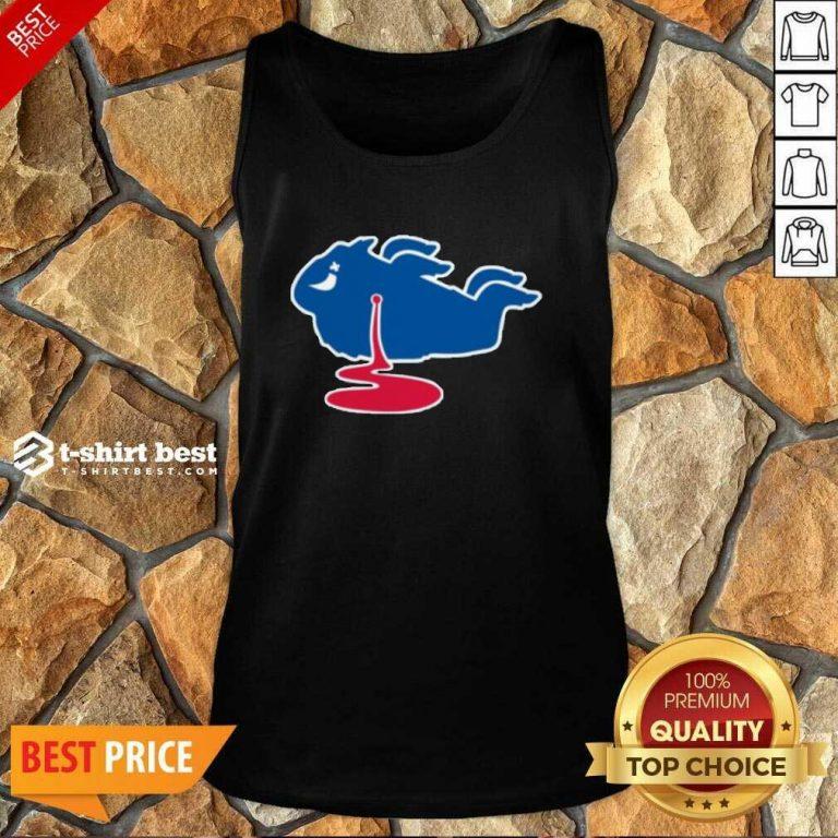 Buffalo Bills Shot Dead Logo Tank Top - Design By 1tees.com