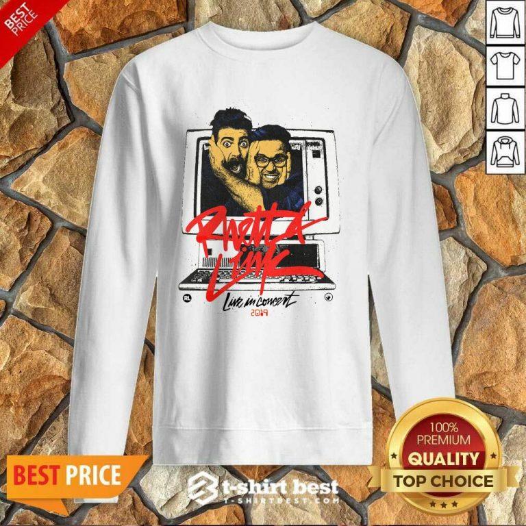 Gmm Merch Rhett Link Live In Concert 2019 Sweatshirt - Design By 1tees.com