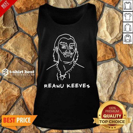 Reanu Keeves Tank Top - Design By 1tees.com