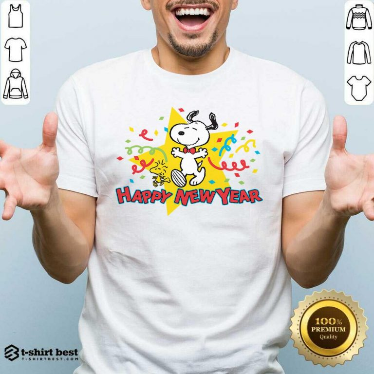 Snoopy Happy New Year Shirt - Design By 1tees.com