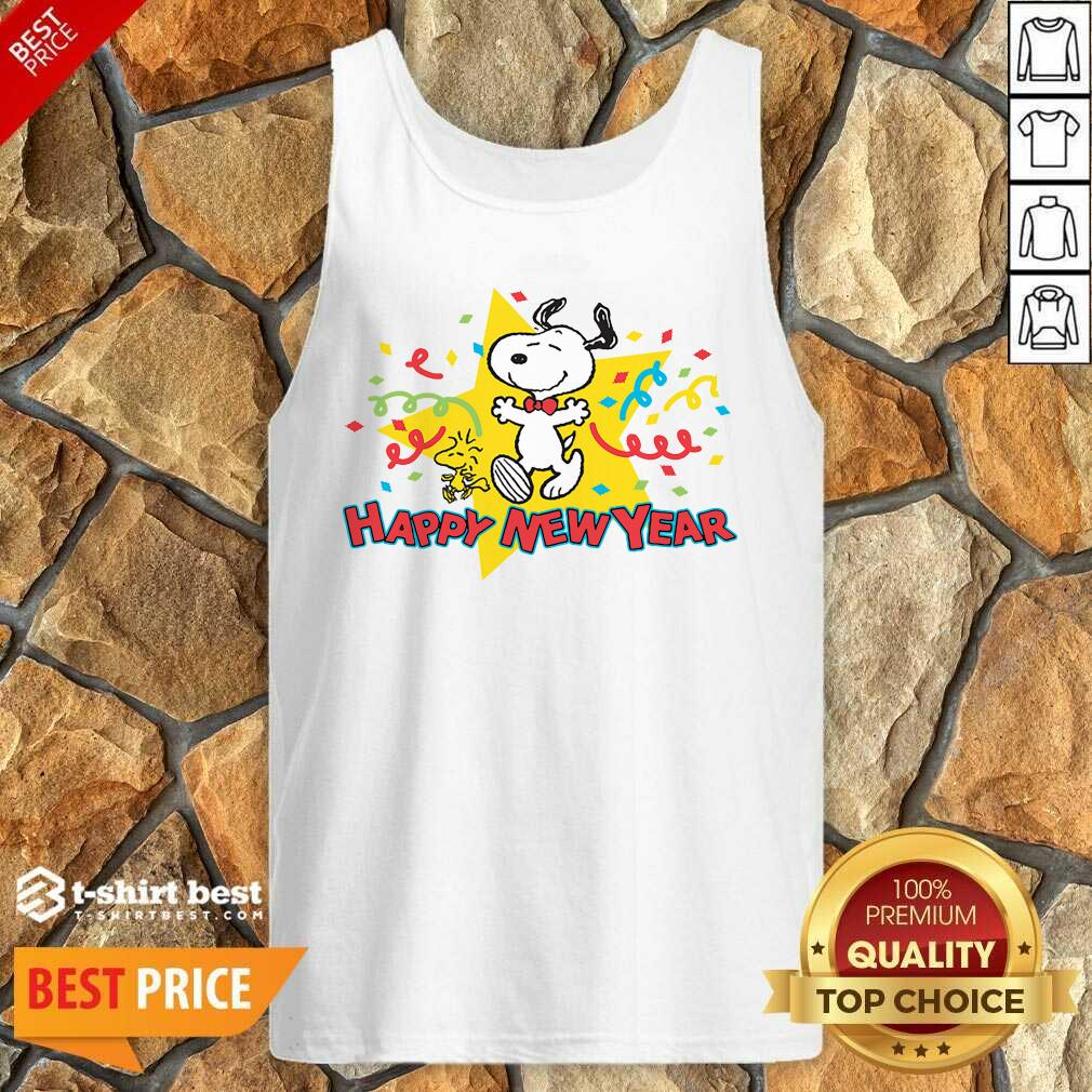 Snoopy Happy New Year Tank Top - Design By 1tees.com