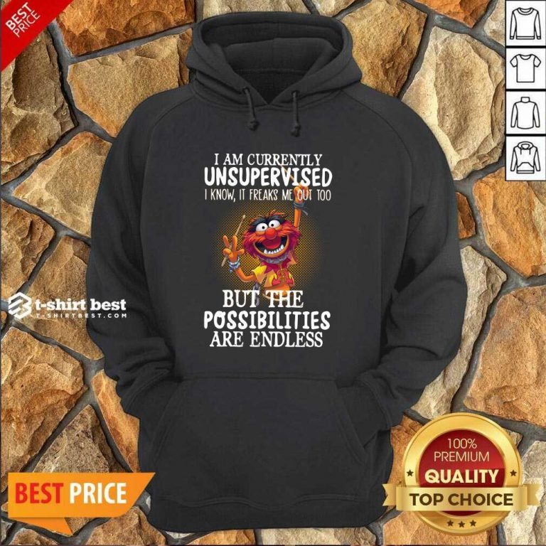 Muppets I Am Currently Unsupervised But The Possibilities Are Endless Hoodie - Design By 1tees.com
