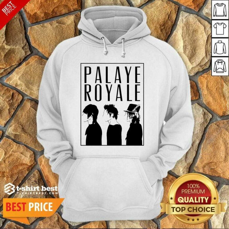 Palaye Royale Merch Silhouette Hoodie - Design By 1tees.com