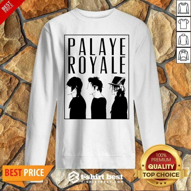 Palaye Royale Merch Silhouette Sweatshirt - Design By 1tees.com