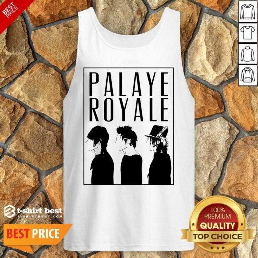 Palaye Royale Merch Silhouette Tank Top - Design By 1tees.com