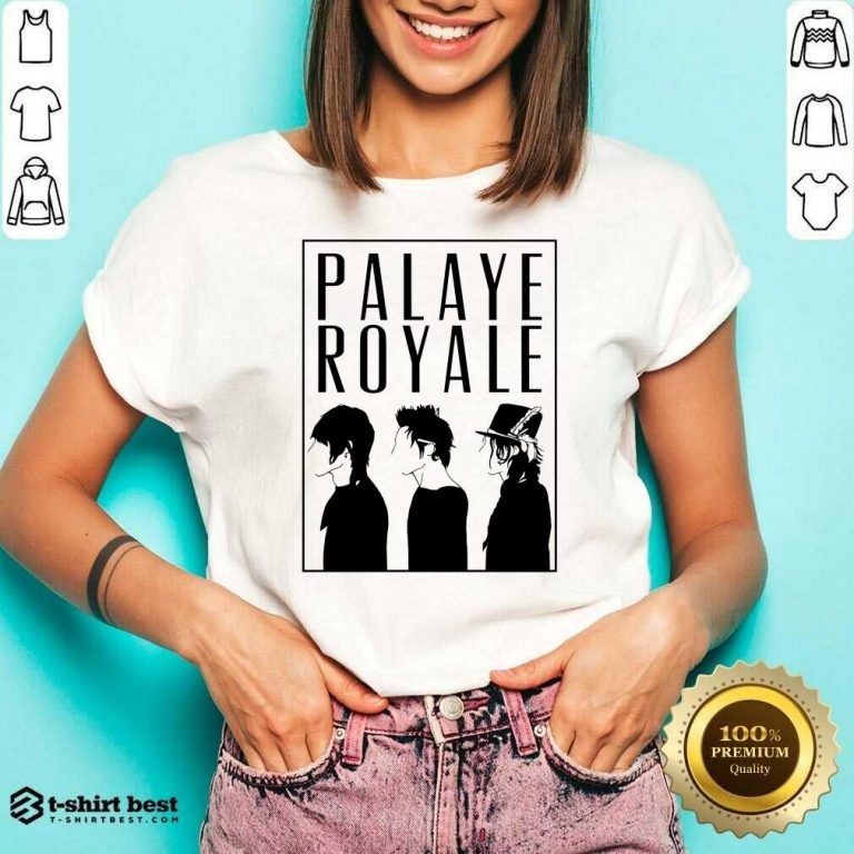 Palaye Royale Merch Silhouette V-neck - Design By 1tees.com
