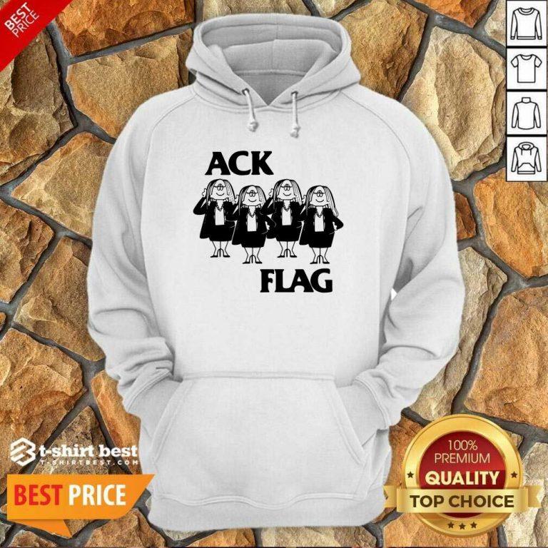 Cathy Ack Flag Hoodie - Design By 1tees.com