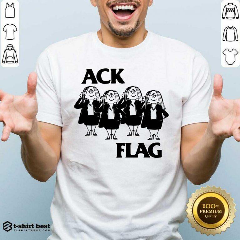 Cathy Ack Flag Shirt - Design By 1tees.com
