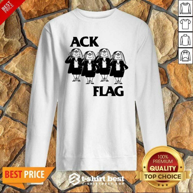 Cathy Ack Flag Sweatshirt - Design By 1tees.com