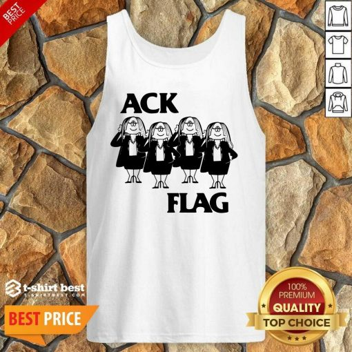 Cathy Ack Flag Tank Top - Design By 1tees.com