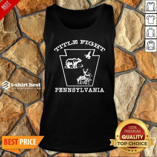 Cold Cuts Merch Title Fight Rg Tank Top - Design By 1tees.com