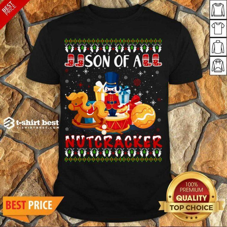 Hot Cute Nutcracker Costume Xmas Ugly Shirt - Design By 1tees.com