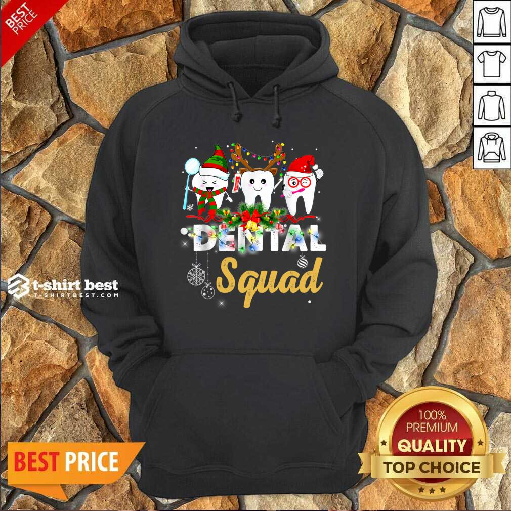 Dental Squad Merry Christmas Hoodie - Design By 1tees.com