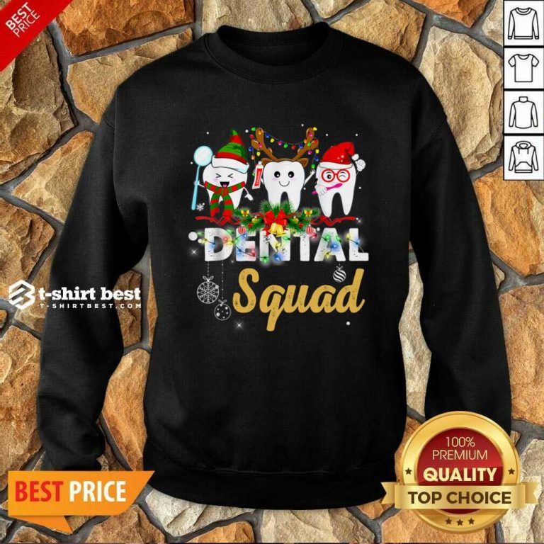 Dental Squad Merry Christmas Sweatshirt - Design By 1tees.com