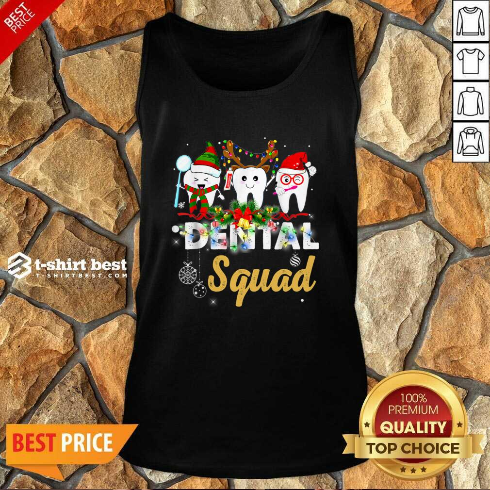 Dental Squad Merry Christmas Tank Top - Design By 1tees.com