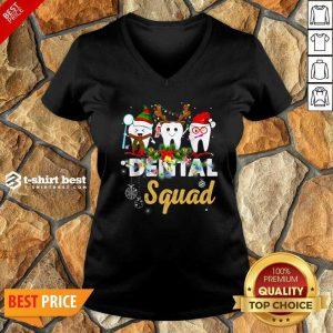 Dental Squad Merry Christmas V-neck - Design By 1tees.com