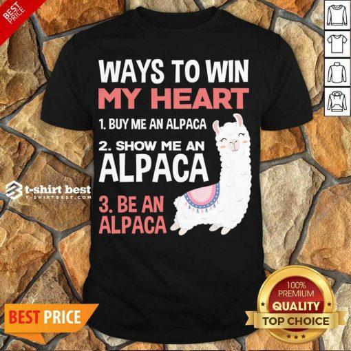 Hot llama Alpaca Heart Love Animals Sweet Children Shirt - Design By 1tees.com