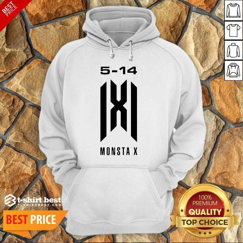 Monsta X Merch Monsta X 5 14 Anniversary Hoodie - Design By 1tees.com