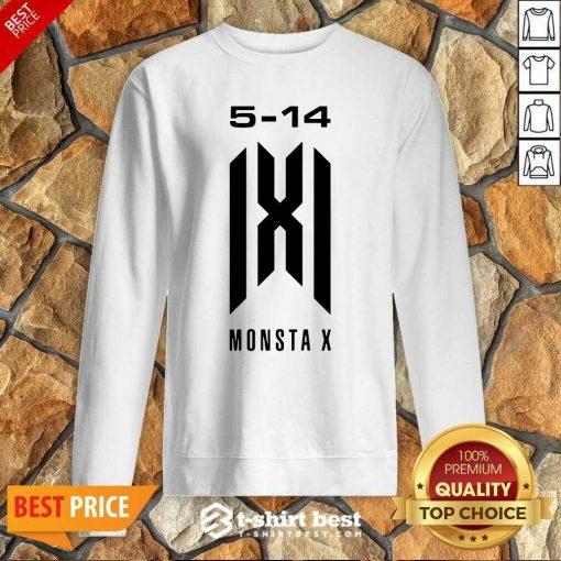 Monsta X Merch Monsta X 5 14 Anniversary Sweatshirt - Design By 1tees.com