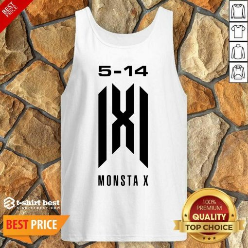 Monsta X Merch Monsta X 5 14 Anniversary Tank Top - Design By 1tees.com