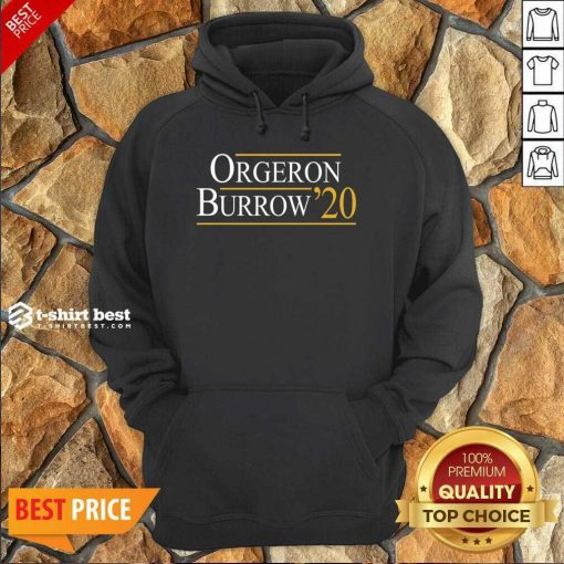 Orgeron Burrow 2020 Hoodie - Design By 1tees.com