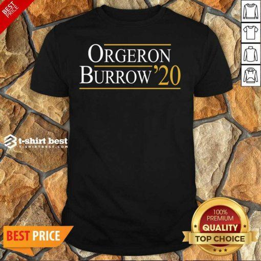 Orgeron Burrow 2020 Shirt - Design By 1tees.com
