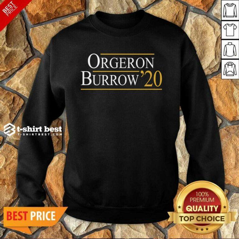Orgeron Burrow 2020 Sweatshirt - Design By 1tees.com