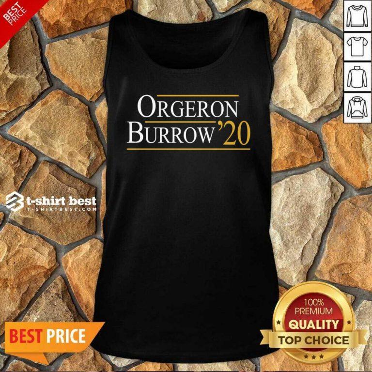 Orgeron Burrow 2020 Tank Top - Design By 1tees.com