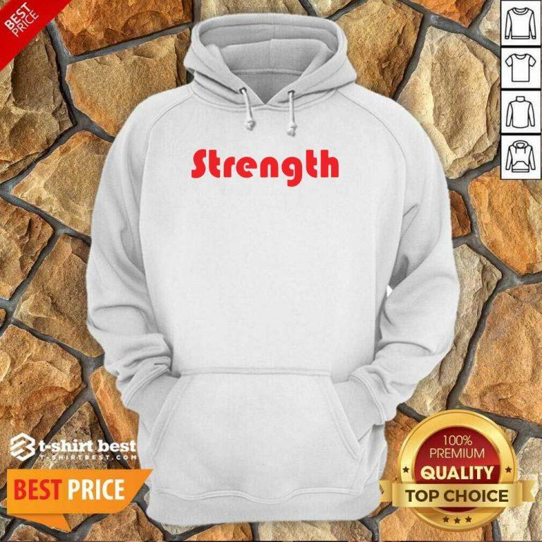 Strength Hoodie - Design By 1tees.com