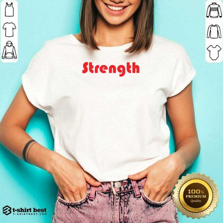 Strength V-neck - Design By 1tees.com