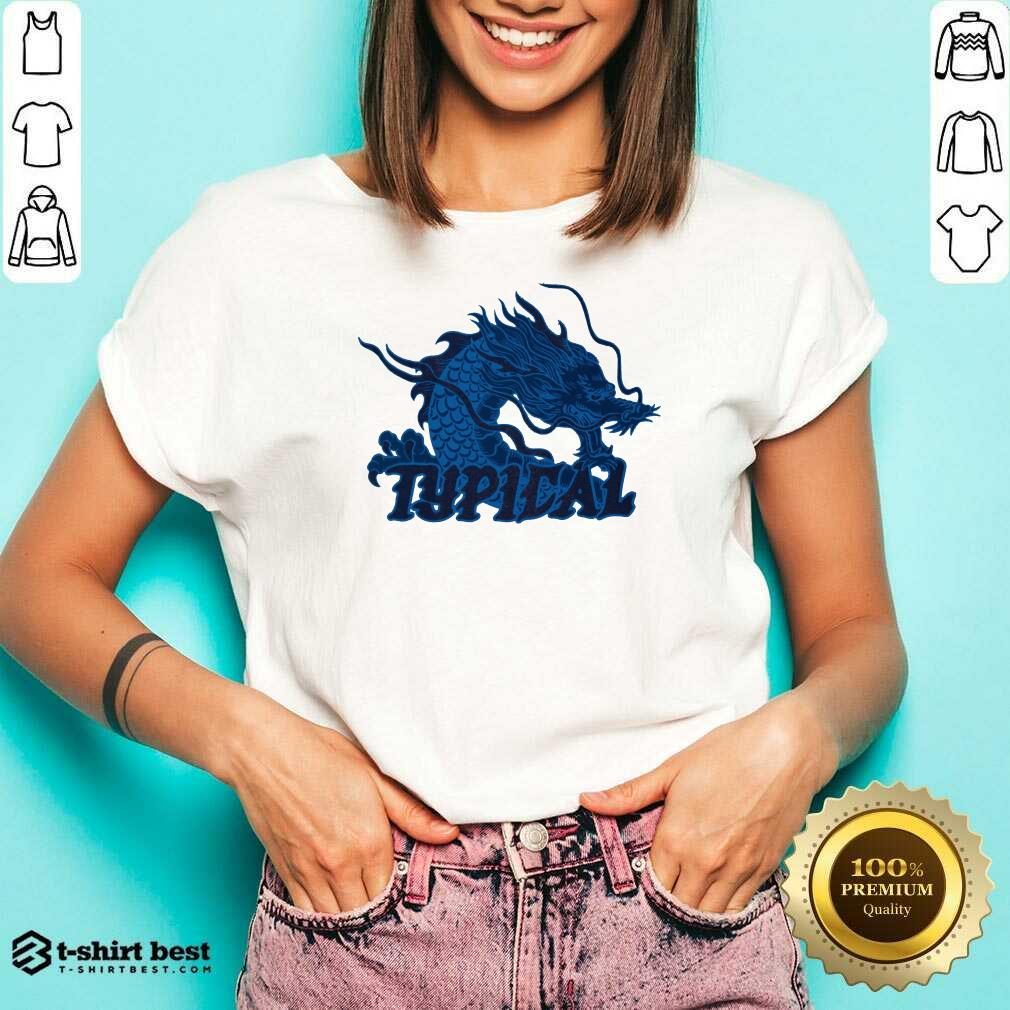 Typical Gamer Merch Scales Crystal V-neck - Design By 1tees.com