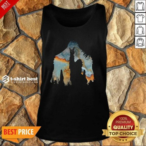 Bigfoot Rock And Roll Tank Top - Design By 1tees.com