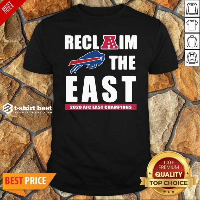 Buffalo Bills Reclaim The East 2020 AFC East Champions Shirt - Design By 1tees.com