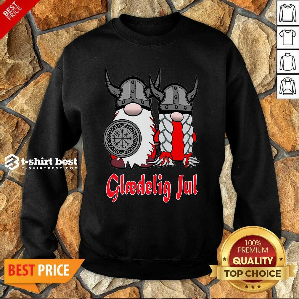Gnome Gloedelig Ful Sweatshirt - Design By 1tees.com