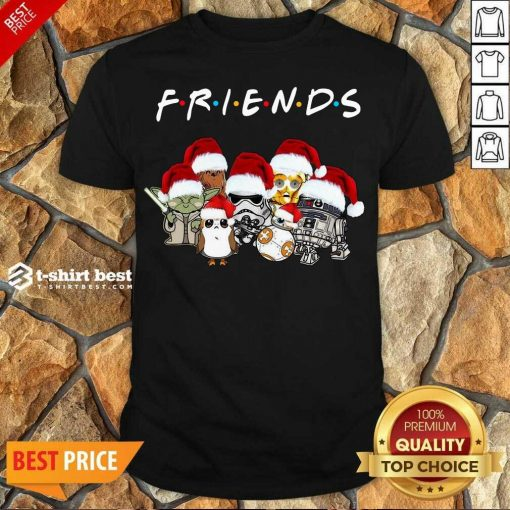 Nice Star Wars Darth Vader Baby Yoda And Friends Christmas Long Sleeve Shirt - Design By 1tees.com