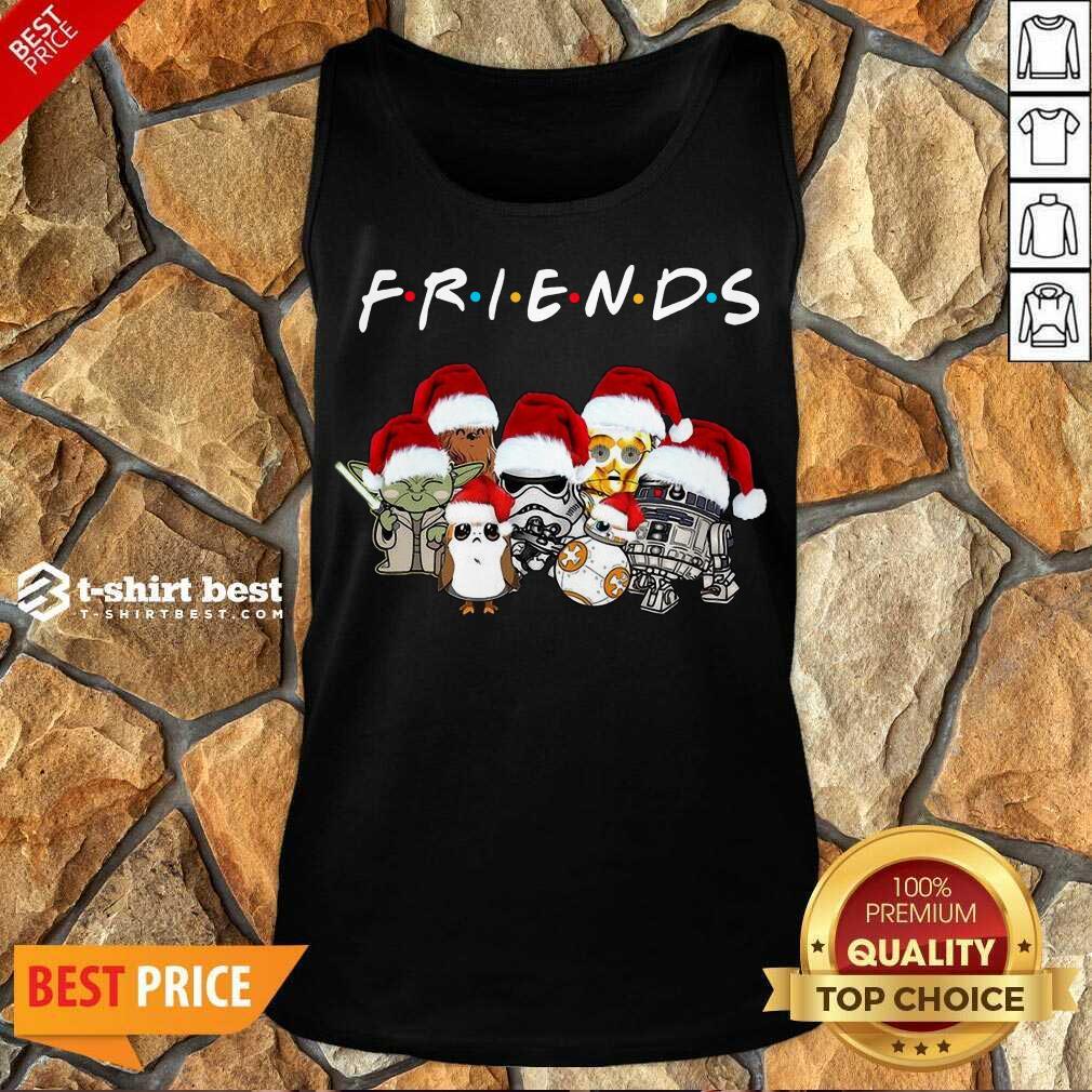 Star Wars Darth Vader Baby Yoda And Friends Christmas Long Sleeve Tank Top - Design By 1tees.com
