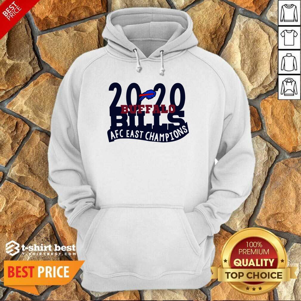 2020 Buffalo Bills Afc East Champions Hoodie - Design By 1tees.com