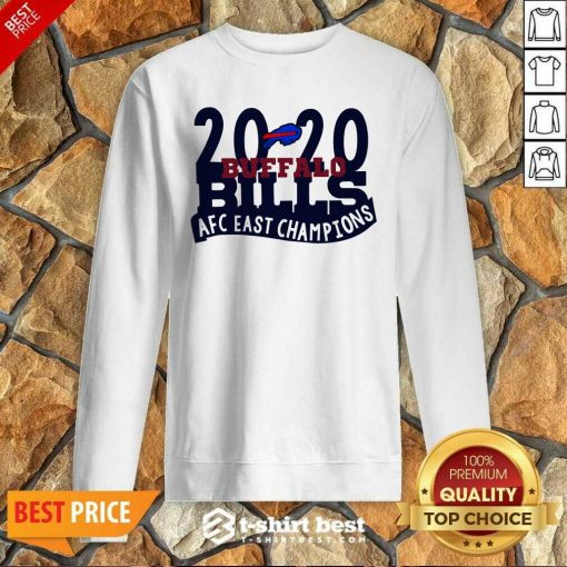 2020 Buffalo Bills Afc East Champions Sweatshirt - Design By 1tees.com