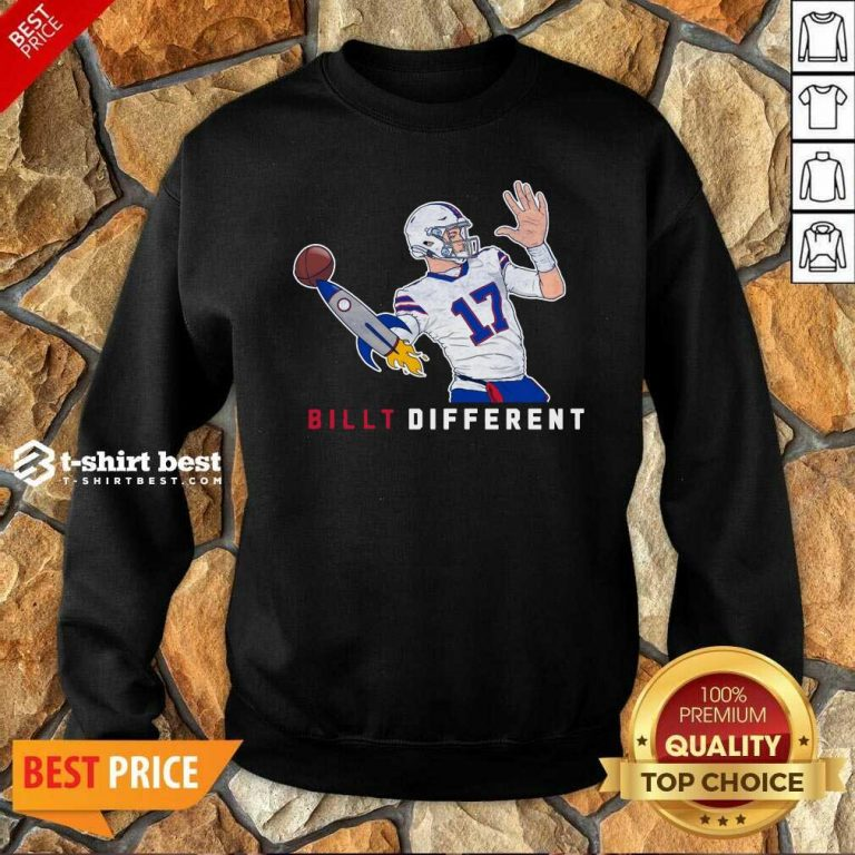 Billt Different #17 Sweatshirt - Design By 1tees.com