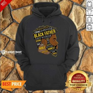 Black Father Giving Working Hoodie - Design By 1tees.com