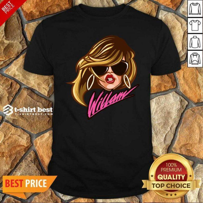 Drag Queen Merch Store Willam Logo Dress Shirt - Design By 1tees.com