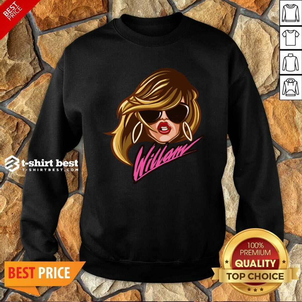 Drag Queen Merch Store Willam Logo Dress Sweatshirt - Design By 1tees.com