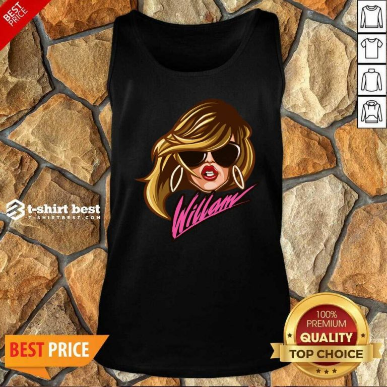 Drag Queen Merch Store Willam Logo Dress Tank Top - Design By 1tees.com